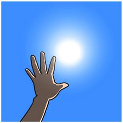 紫外線による肌ダメージ